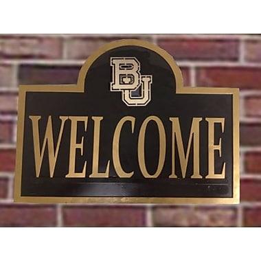 HensonMetalWorks NCAA Garden Sign and Plaque; Baylor University