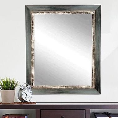 BrandtWorksLLC Weathered Harbor Wall Mirror; 55'' H x 32'' W x 1'' D