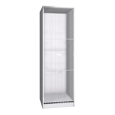 Ironwood Teton 1 Tier 1 Wide Storage Locker; Folkstone Grey