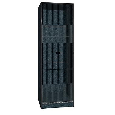 Ironwood Teton 1 Tier 1 Wide Storage Locker; Black Granite