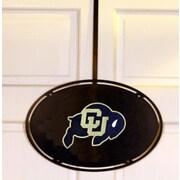 HensonMetalWorks Collegiate Logo Door Hanger; University of Colorado