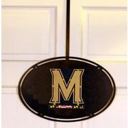 HensonMetalWorks Collegiate Logo Door Hanger; University of Maryland