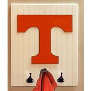 HensonMetalWorks Collegiate Logo Wood Coat Rack; University of Tennessee