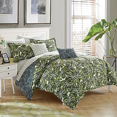 Stylehouse Palm Springs 8 Piece Reversible Comforter Set; Full