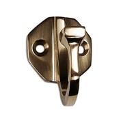 RCH Supply Company Brass Single Arm Wall Hook; Polished Brass