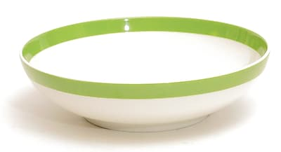 Red Vanilla Freshness 32 oz. Cereal Bowl (Set of 6); Olive