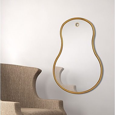 Majestic Mirror Unique Pear Wall Mirror
