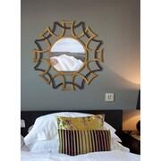 Majestic Mirror Sunburst Beveled Glass Wall Mirror