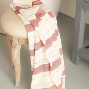 Buldano Turkish Style Peshtemal Turkish Bath Towel; Red