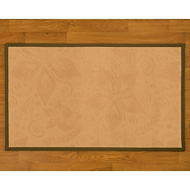 Natural Area Rugs Handmade Beige Area Rug; 5' x 8'
