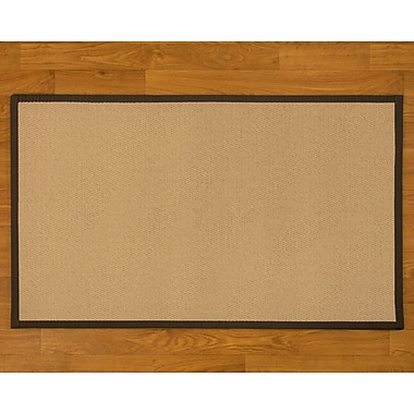 Natural Area Rugs Handmade Beige Area Rug; 9' x 12'