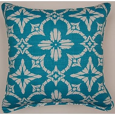 Creative Home Aspidoras Throw Pillow; Teal