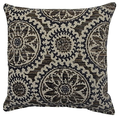 Creative Home Helix Throw Pillow; Steel