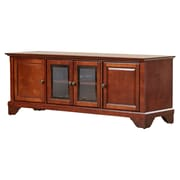 Darby Home Co Abbate Low Profile TV Stand; Vintage Mahogany