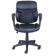 Serta at Home Accupressure Mid-Back Mesh Office Chair; Black