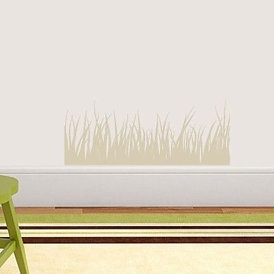 SweetumsWallDecals Grass Wall Decal; Beige