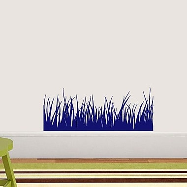 SweetumsWallDecals Grass Wall Decal; Navy