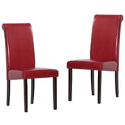 Warehouse of Tiffany Side Chair (Set of 8); Red