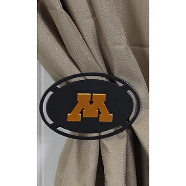 HensonMetalWorks Curtain Tieback (Set of 2); University of Minnesota