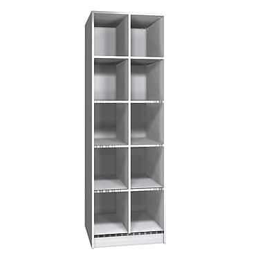 Ironwood Teton 5 Tier 2 Wide Locker; Folkstone Grey