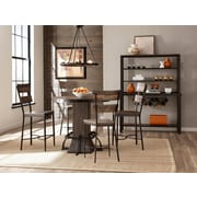 Gracie Oaks Cathie 5 Piece Round Wood Counter Height Dining Set