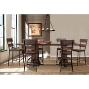 Gracie Oaks Cathie 7 Piece Counter Height Dining Set
