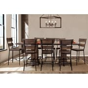 Gracie Oaks Cathie 9 Piece Counter Height Dining Set