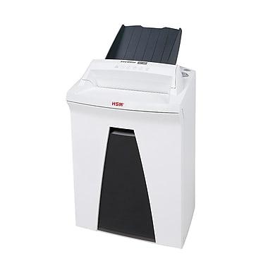 HSM - Déchiqueteur de bureau SECURIO à alimentation auto 150CL5, pile de 150 feuilles, de 5 à 7 feuilles, coupe micro