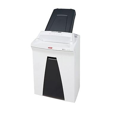 HSM - Déchiqueteur de bureau SECURIO à alimentation auto 300CL5, pile de 300 feuilles, de 5 à 7 feuilles, coupe micro