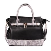 Karla Hanson® Women's Satchel Bag, Black