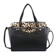 Karla Hanson® 60121 Women's Satchel Bag, Black