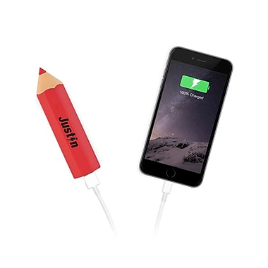 Justin Coloured Power Stick, 2200 mAh, Red (JJ-620-2200)