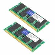 AddOn DDR3 SDRAM SoDIMM 204-pin DDR3-1066/PC3-8500 Desktop/Laptop RAM Module, 8GB (2 x 4GB) (AA1066D3S7K2/8G)