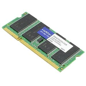 AddOn DDR2 SDRAM SoDIMM 200-pin DDR2-667/PC2-5300 Desktop/Laptop RAM Module, 2GB (1 x 2GB) (AA667D2S5/2GB)