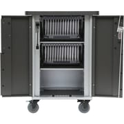 Bretford T30C-P-AC-US EVER Charging Cart with MiX Module System for Up to 30 Devices