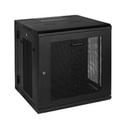 CyberPower® Carbon™ 12U Swing-Out Wall Mount Rack Enclosure, Black (CR12U51001)