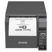 Epson® TM-T70II Monochrome Receipt POS Printer, USB, Dark Gray