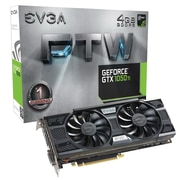 EVGA® GeForce GTX 1050 Ti FTW ACX 3.0 PCI Express 3.0 Gaming Graphic Card, 4096MB (04G-P4-6258-KR)