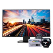"NEC Widescreen Full HD LCD Desktop Monitor with IPS Panel Technology, 24"" (EX241UN-BK-SV)"