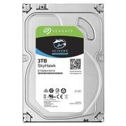 "Seagate  SkyHawk SATA 6 Gbps 3.5"" Internal Hard Drive, 3TB (ST3000VX010)"