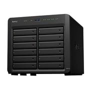 Synology® DiskStation DS3617xs Black Intel Xeon D-1527 Quad-Core 2.2 GHz 12-Bay Desktop SAN/NAS Server