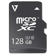 V7® Class 10/UHS-1 microSDXC Flash Memory Card, 128GB (VFMSD128GUHS1R-3N)