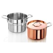 Artaste Rain 7.5 qt. Tri-Ply Copper Clad Induction Ready Stock Pot w/ Lid