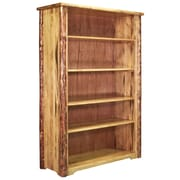 Loon Peak Tustin Wooden Collection 63'' Standard Bookcase