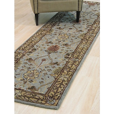 Eastern Rugs Morris Hand-Tufted Blue Area Rug