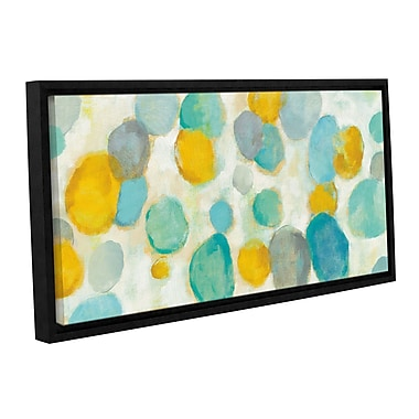 Ebern Designs 'Painted Pebbles' Framed Painting Print; 8'' H x 12'' W x 2'' D