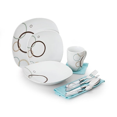 For The Chef 40 Piece Dinnerware Set WYF078279905354