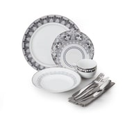 For The Chef 40 Piece Dinnerware Set
