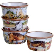 Certified International Heartland 4 Piece Ice Cream Dessert Bowl Set