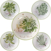 Certified International Fresh Herbs 5 Piece Pasta Bowl Set (Set of 5)